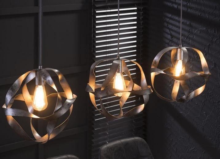 Hanglamp Twist Trio - Zilver