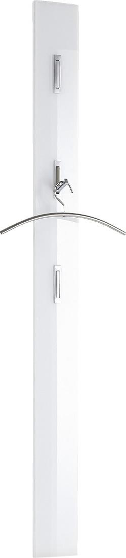 Kapstokpaneel Scalea 170 cm hoog - Wit