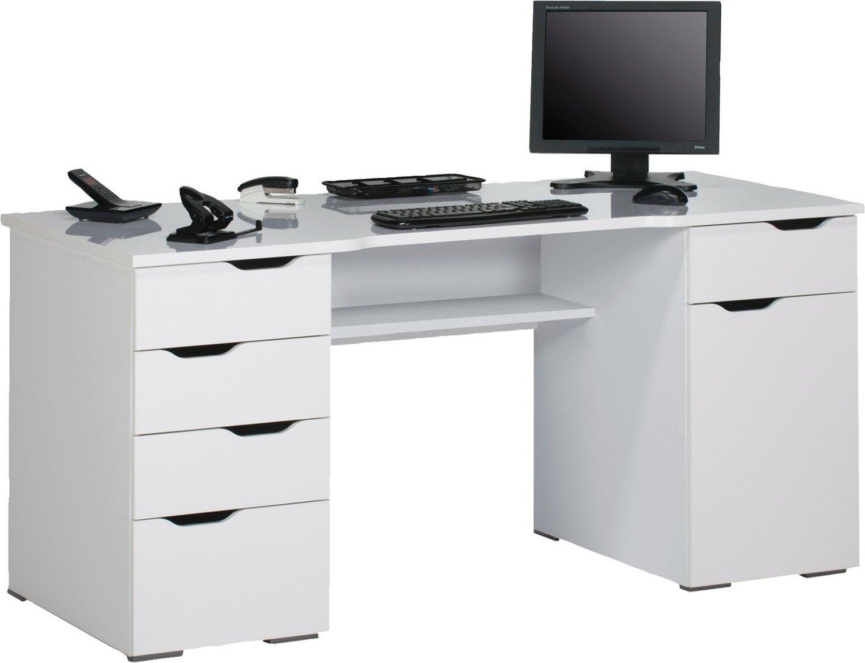 Kaya Computer Bureau Wit met Hoogglans Wit