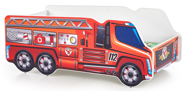 Kinderbed Brandweerauto 70x140cm