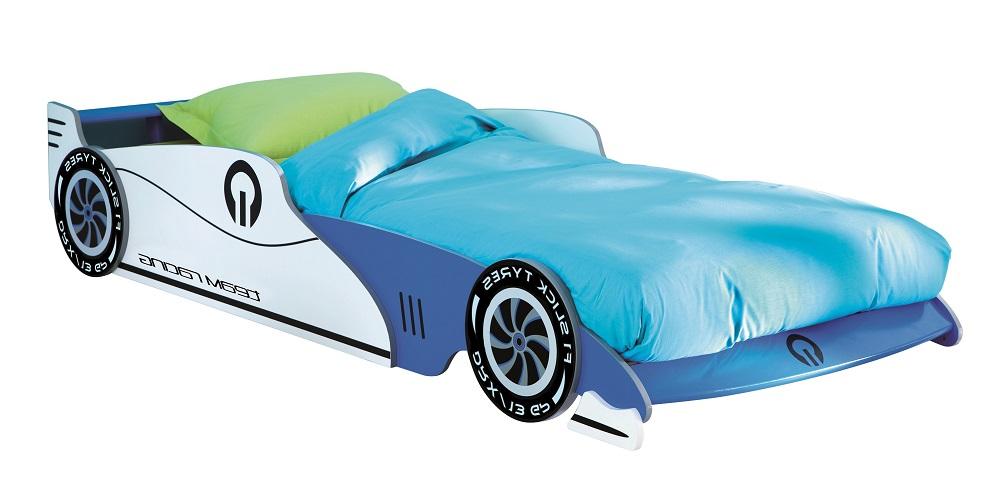 Young Furniture kopen? Scoor Kinderbed Grand Prix 90X190/200cm in blauw voor Kinderkamer>Tienerkamer>Kinderbedden met het meeste voordeel