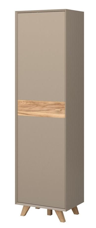 Kledingkast Calvi Small 208 cm hoog - Grijs