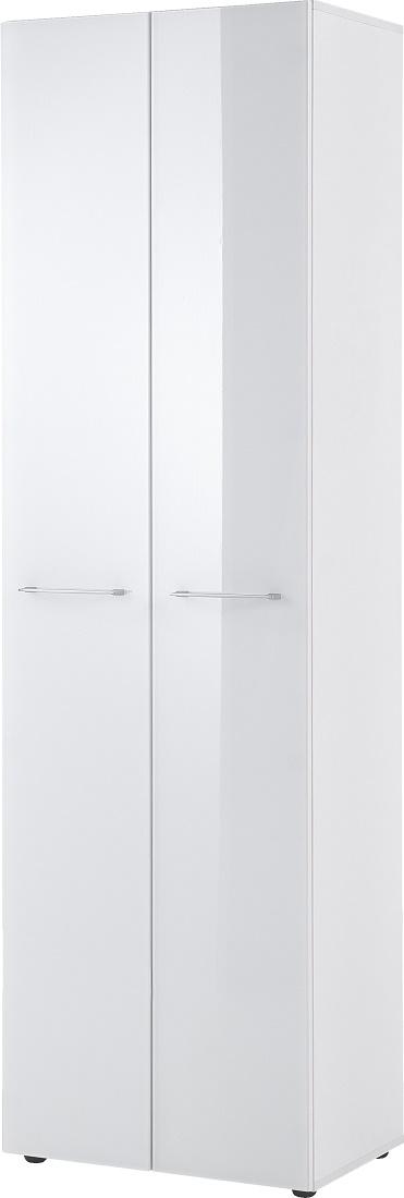 Kledingkast Scalea 197 cm hoog - Wit