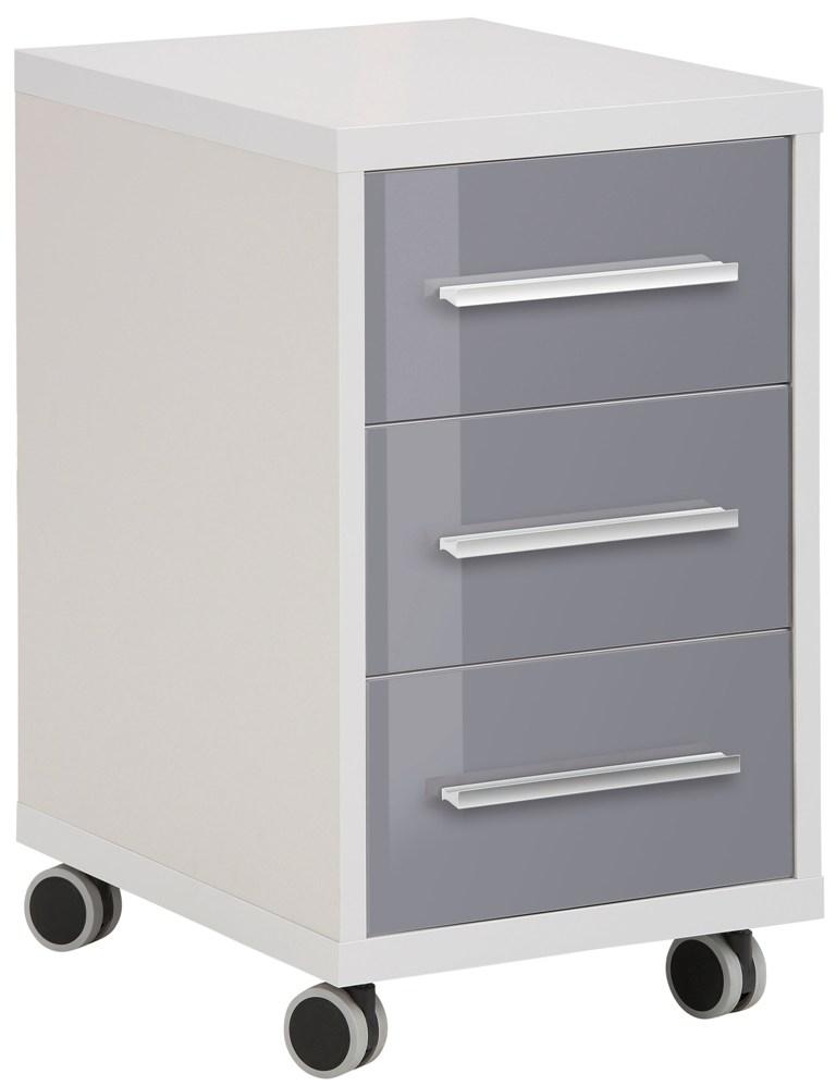 Ladeblok Banco 68 cm hoog Plantina grijs met grijs