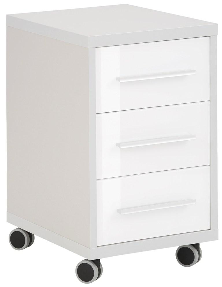 Ladeblok Banco 68 cm hoog Plantina grijs met wit