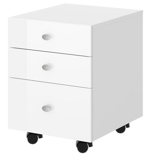 Ladeblok Murano 56 cm hoog in hoogglans wit kopen