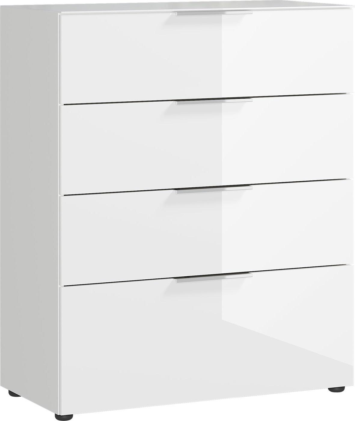 Ladekast Oakland 102 cm hoog in wit