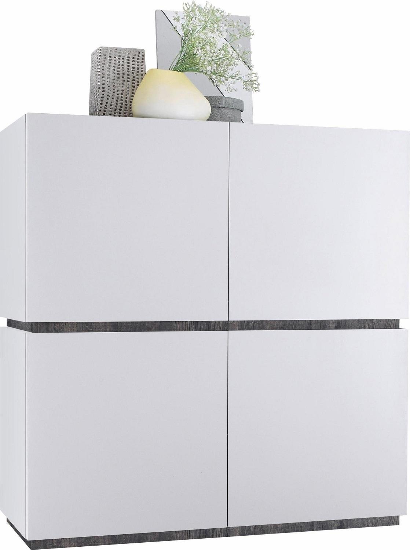 Opbergkast Vespa 127 cm hoog - Mat wit