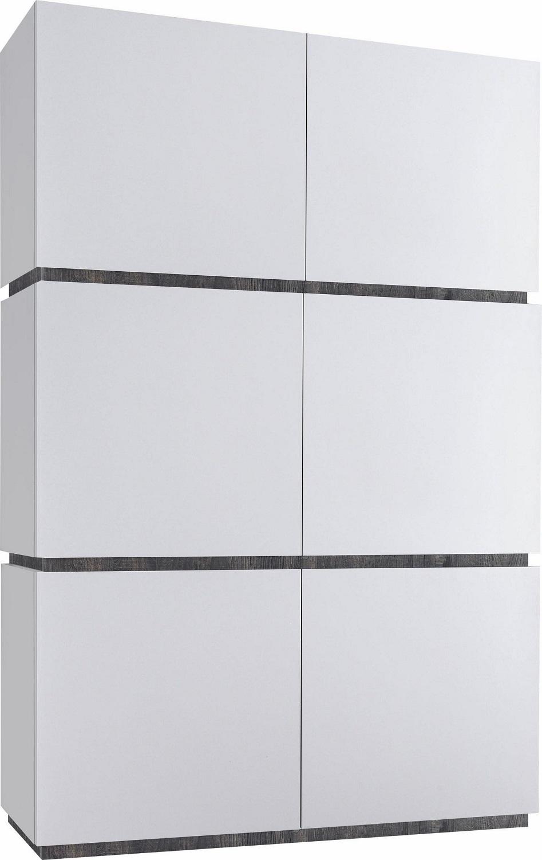 Opbergkast Vespa 190 cm hoog Mat wit