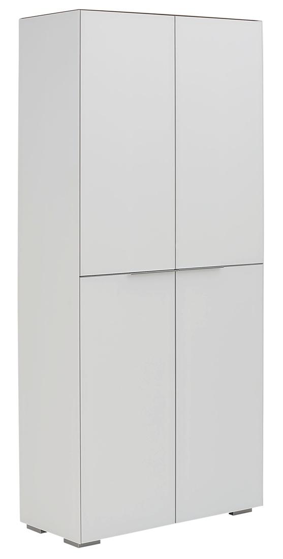 Opbergkast Yas 180 cm hoog - Wit