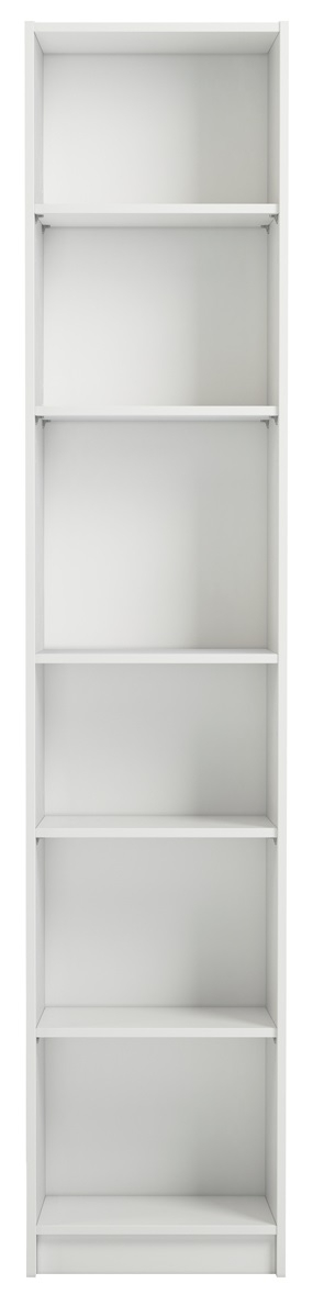 Boekenkast Anette 200 cm hoog in wit