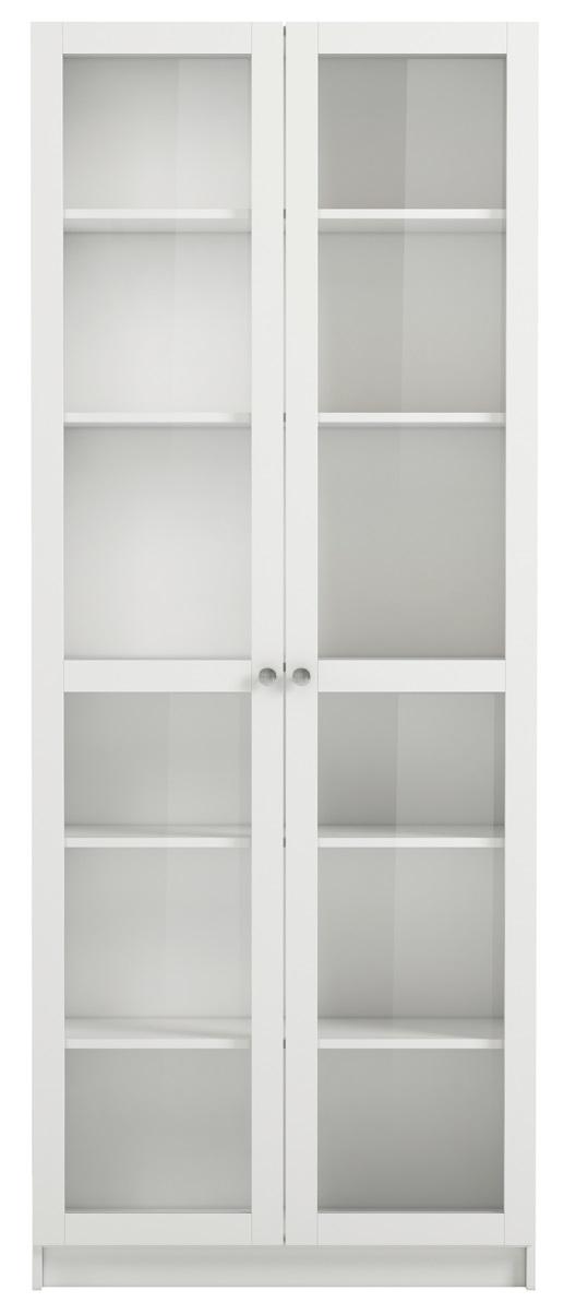 Boekenkast Anette L 200 cm hoog in wit