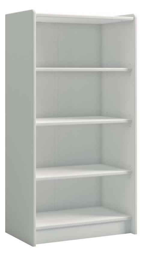 Boekenkast Kids 123 cm hoog in wit