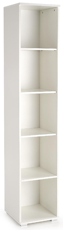 Boekenkast Lima 200 cm hoog in wit