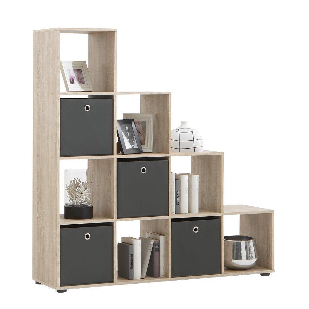 goedkope Open Boekenkast Mega 2  Eiken FD Furniture