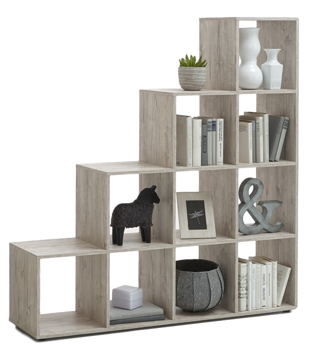 goedkope Open Boekenkast Mega 2  Zand Eiken FD Furniture