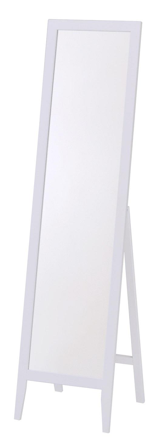 Passpiegel staand Lustro 134 cm hoog in wit