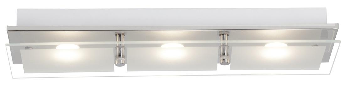 Plafondlamp Atlas LED 3x5Watt in chroom