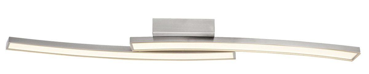 Plafondlamp Blade Led 2x13Watt in chroom