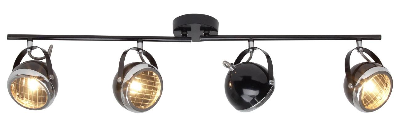 Plafondlamp Relax 4xG9 max 33Watt in zwart