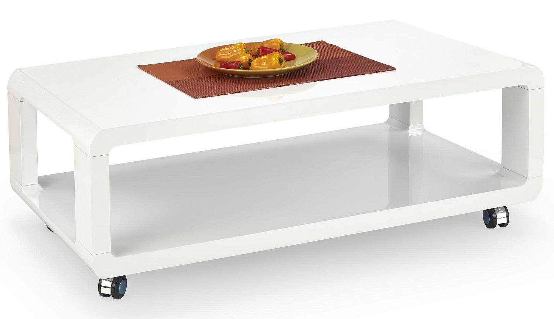 Salontafel Futura 105 cm breed in wit