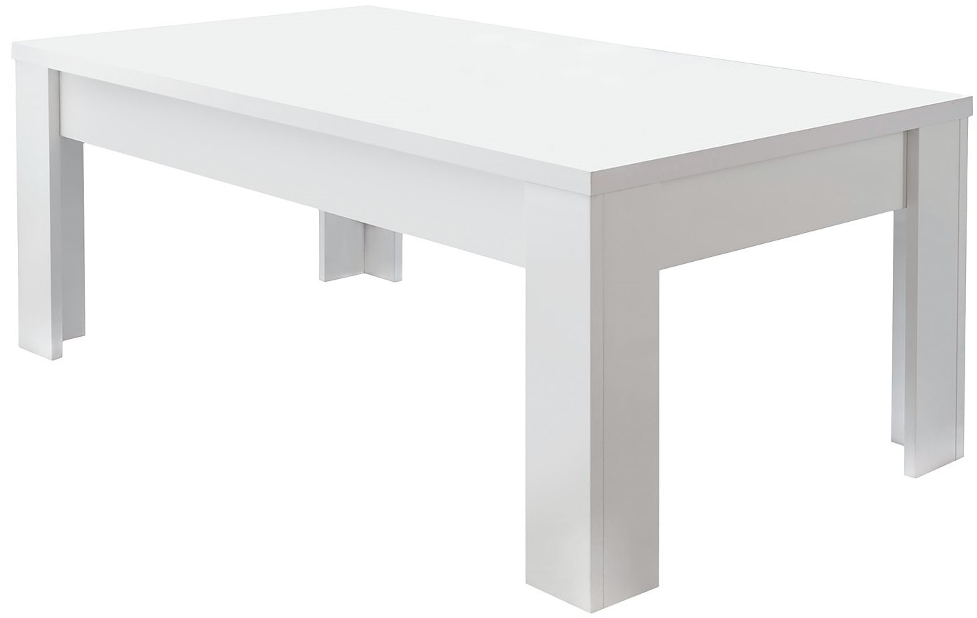 Salontafel SKY 122 cm breed – Wit