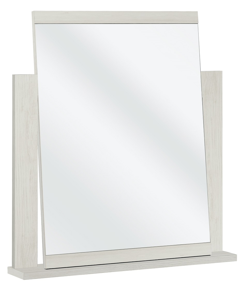 Spiegel Thelma 82 cm hoog in gekalkte kastanjehout
