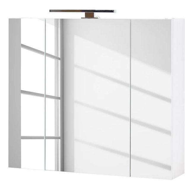 Spiegelkast Pescara 76 cm breed in wit