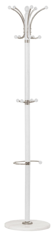 Staande kapstok Alem 185 cm hoog in wit