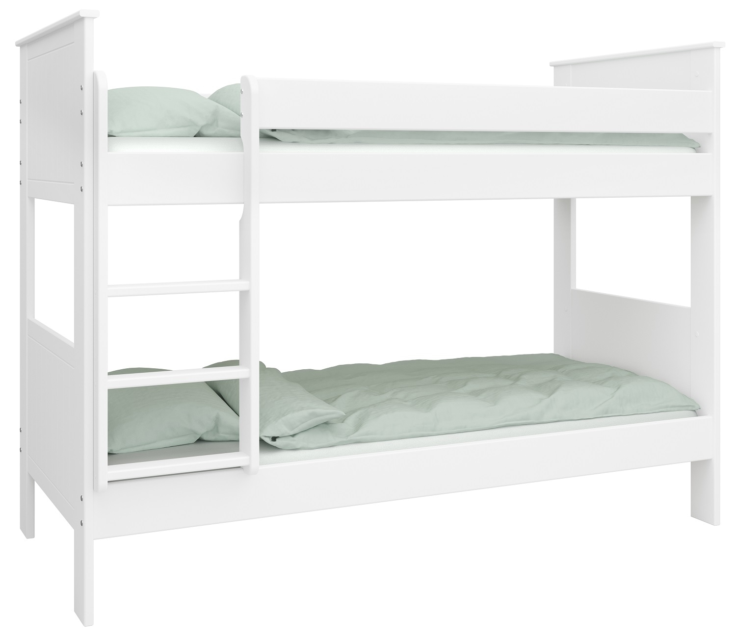 Stapelbed Alba M 90x200cm breed in wit
