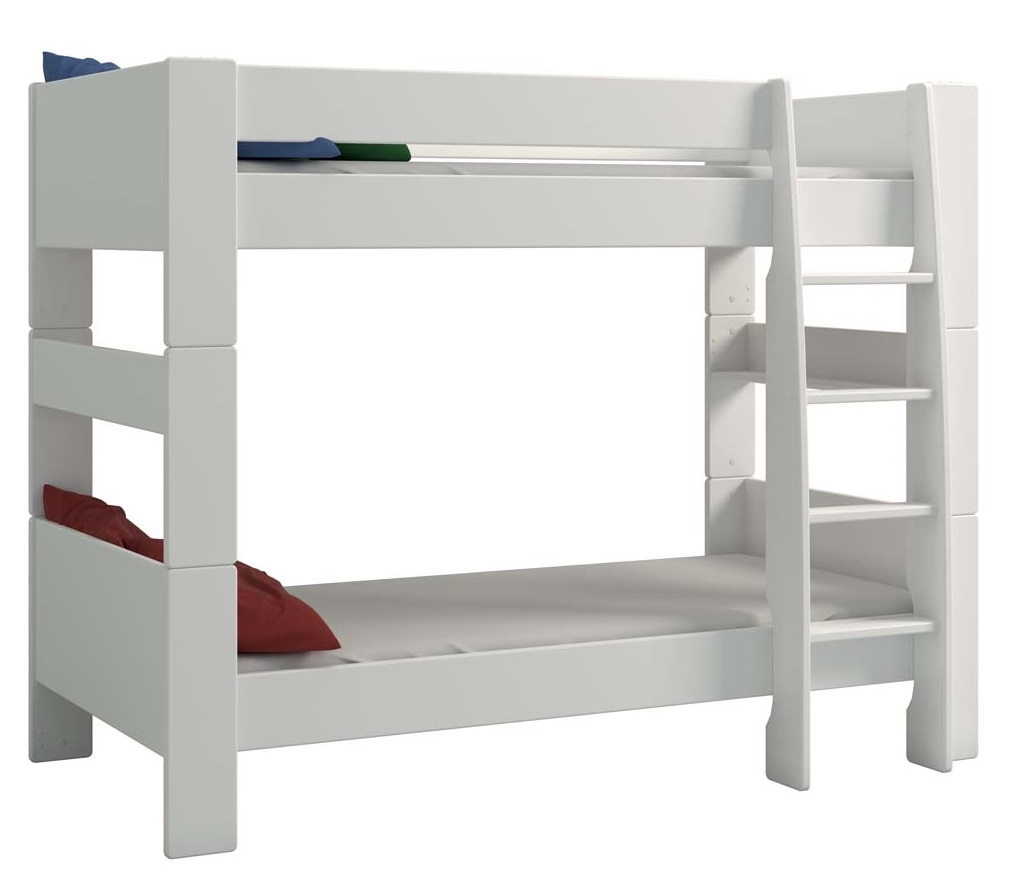 Stapelbed Kids 90x200cm in wit