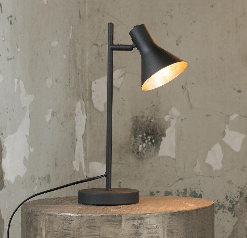 Tafellamp Cup 45 cm hoog in zwart