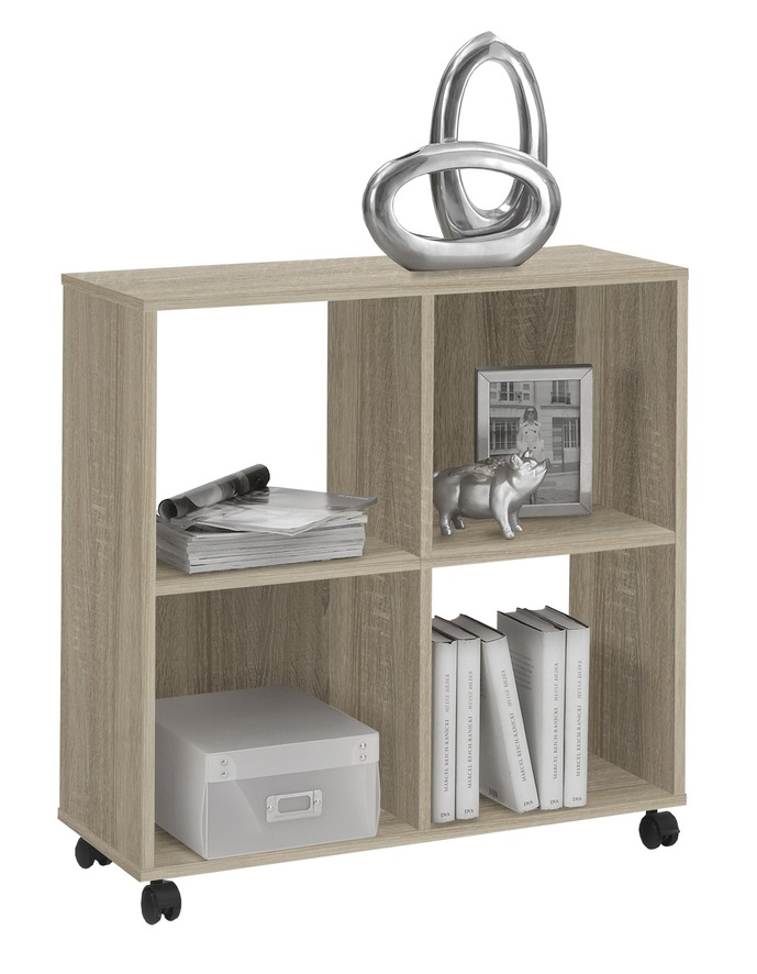 goedkope Trolley kast Mega 4  Eiken FD Furniture