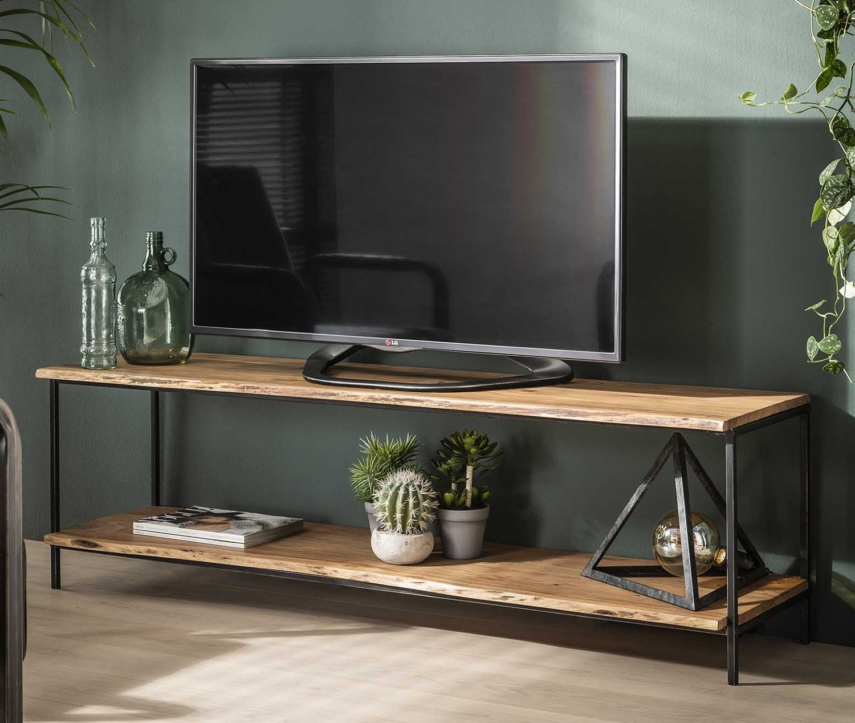 Tv-meubel Edge 150 cm breed in acacia naturel
