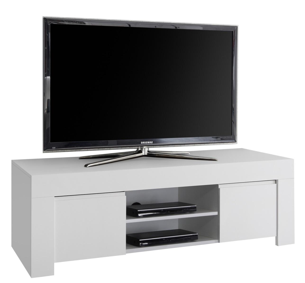 Tv-meubel Firenze 138 cm breed in mat wit