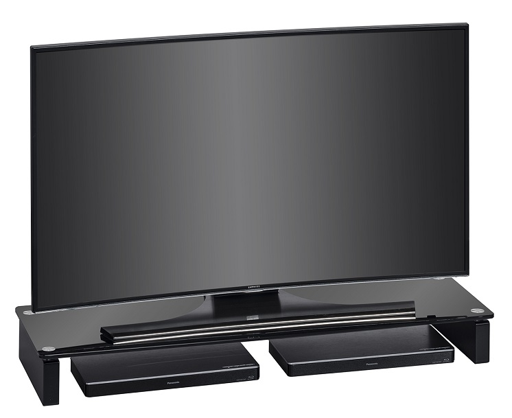 Tv meubel Atlas 110 cm breed - Zwart