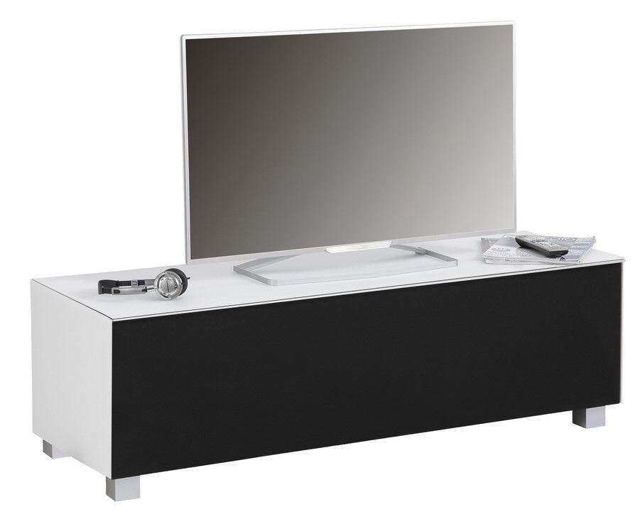 Tv-meubel Fristi 140 cm breed - Wit