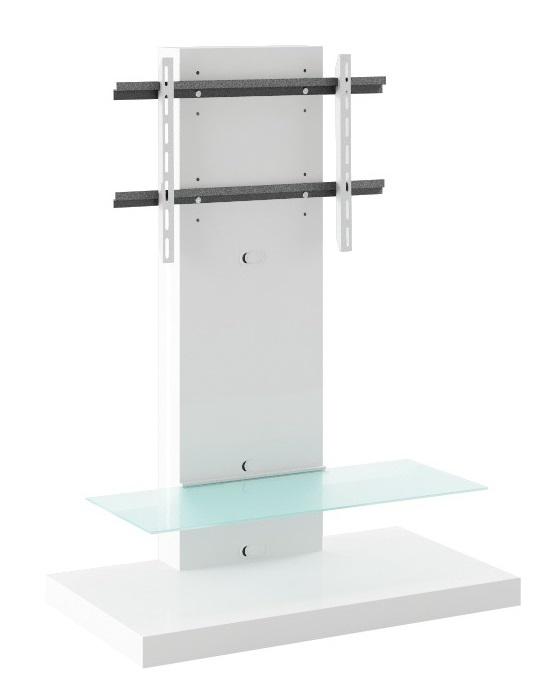 Tv-meubel Marino Max van 134 cm hoog in hoogglans Wit