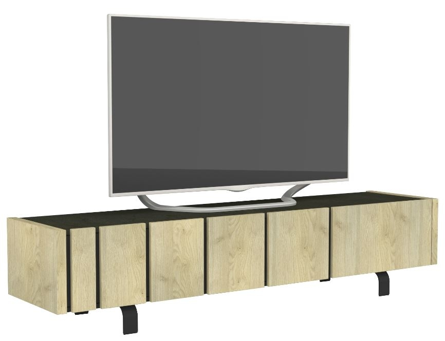 Tv Meubel Rush 190 cm breed - Naturel eiken