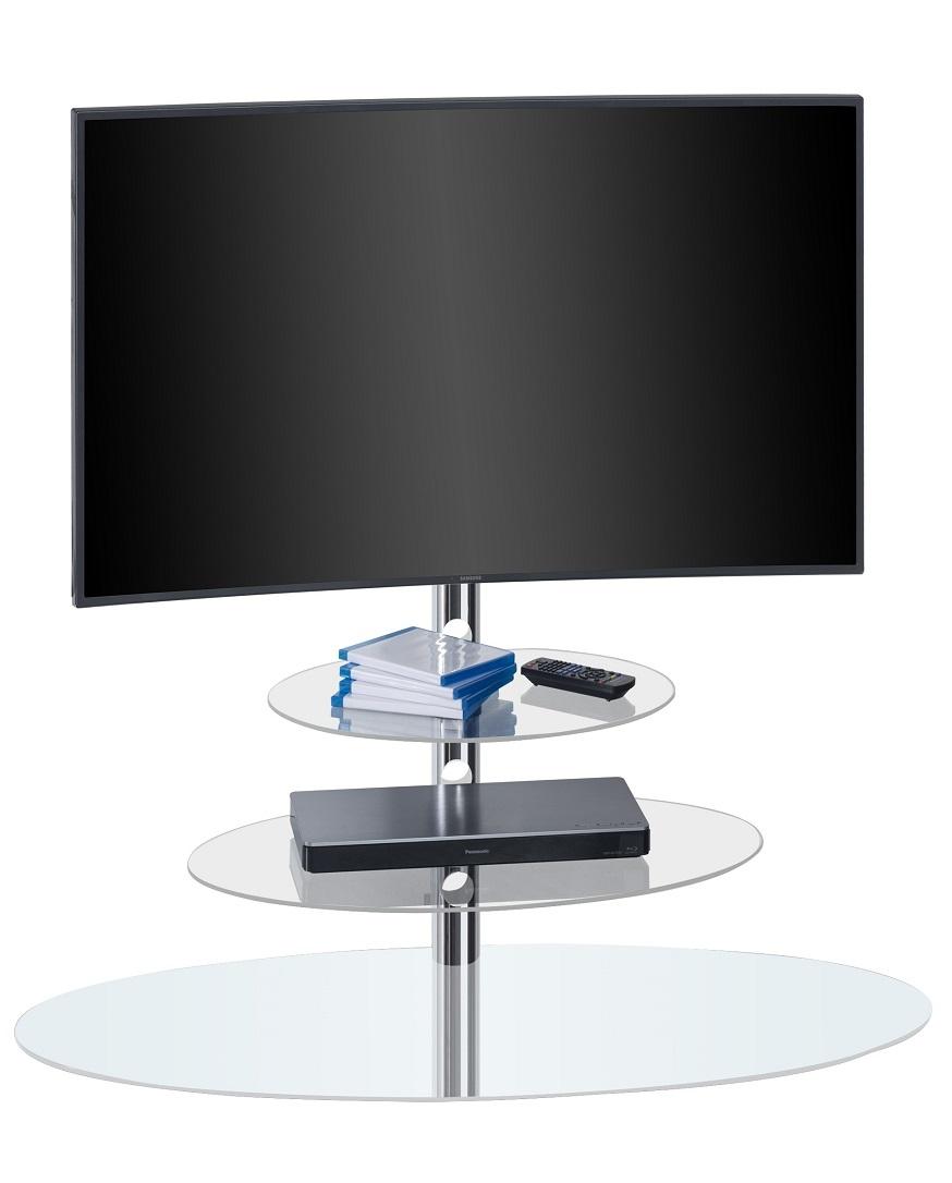 Tv-meubel Selena 110 cm breed - Wit