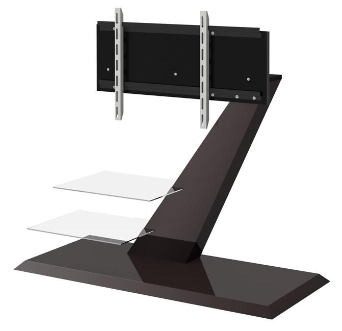 TV Meubel Vento 110 cm breed in hoogglans bruin