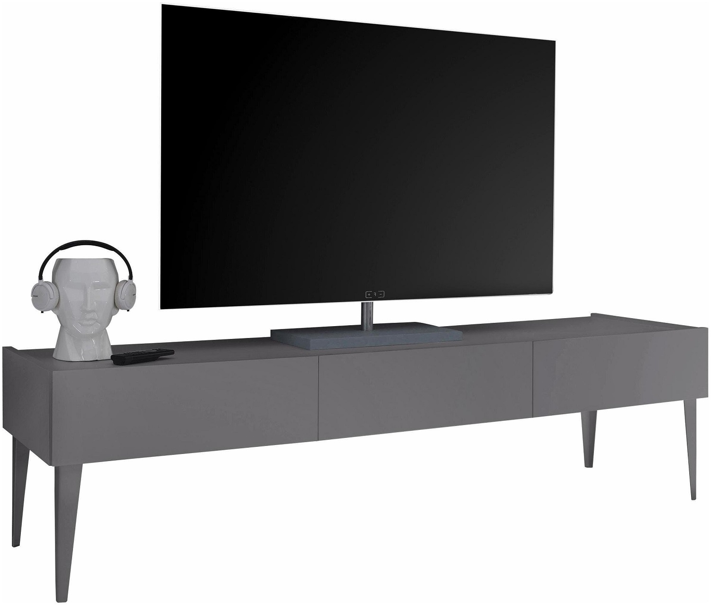 Tv meubel Vespa large met voeten - Mat grijs