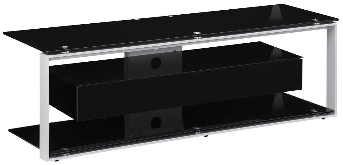 Tv-meubel Yas 130 cm breed - Zwart