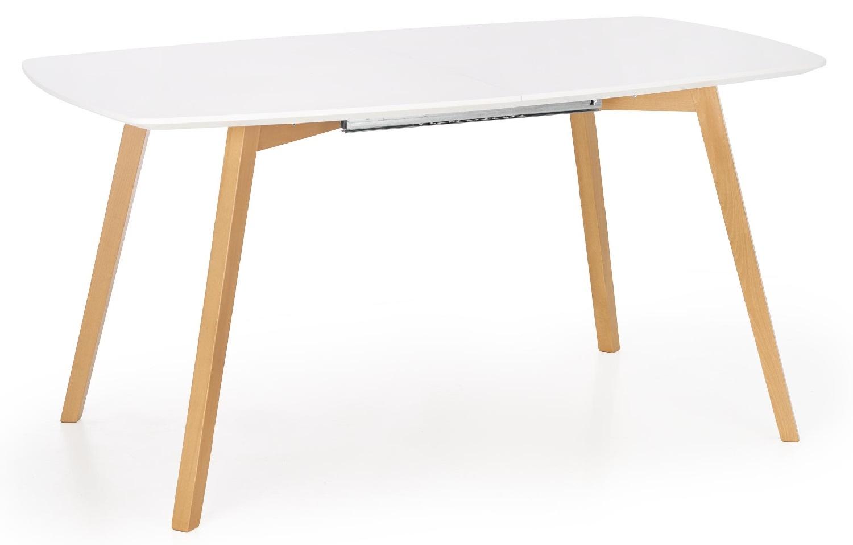 Home Style kopen? Scoor Uitschuifbare eettafel Kajetan 150 tot 200 cm breed in mat wit voor Eetkamer>Eettafels>Eettafels met het meeste voordeel