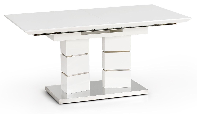 Home Style kopen? Scoor Uitschuifbare eettafel Lord 160 tot 200 cm breed in wit voor Eetkamer>Eettafels>Eettafels met het meeste voordeel
