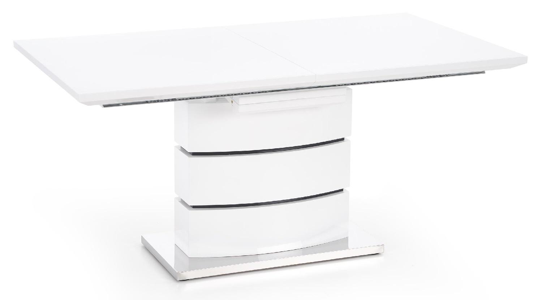 Home Style kopen? Scoor Uitschuifbare eettafel Nobel 160 tot 200 cm breed in wit voor Eetkamer>Eettafels>Eettafels met het meeste voordeel