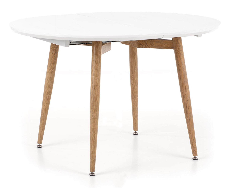 Home Style kopen? Scoor Uitschuifbare ronde eettafel Edward 120 tot 200 cm breed voor Eetkamer>Eettafels>Eettafels met het meeste voordeel