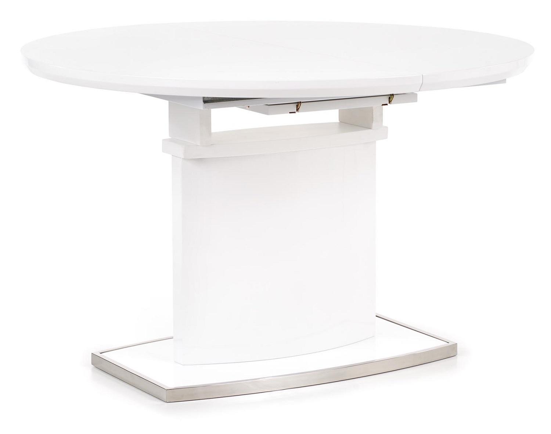 Uitschuifbare ronde eettafel Federico 120 tot 160 cm breed