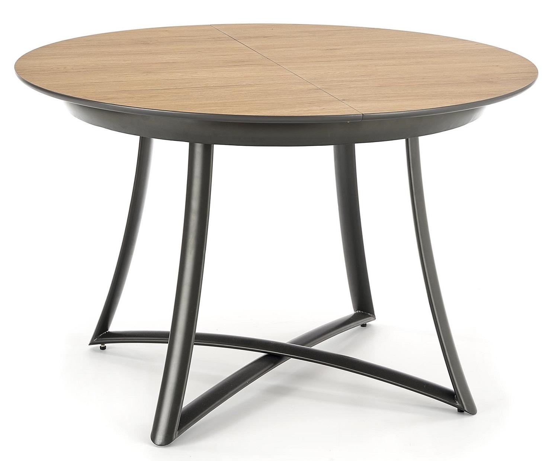 Home Style kopen? Scoor Uitschuifbare ronde eettafel Moretti 118 tot 148 cm breed voor Eetkamer>Eettafels>Eettafels met het meeste voordeel