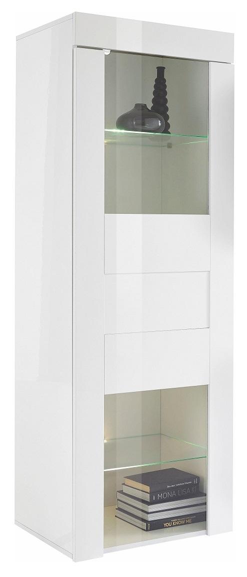 Buffetkast Easy 167 cm hoog in hoogglans wit